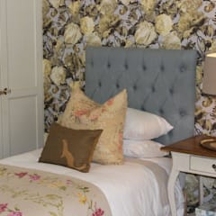 Guest Bedroom - Everton: country Bedroom by Taryn Flanagan Interiors