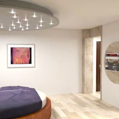 Apartment in Sliven:  Bedroom by eNArch.info,Modern