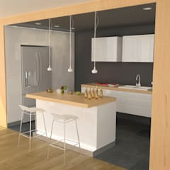 Apartment in Sliven:  Kitchen by eNArch.info