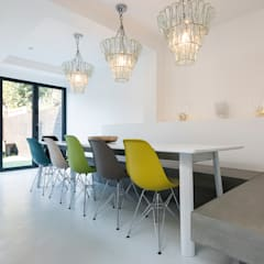 Tasman Road, Clapham - Extension & Refurbishment:  Dining room by Grand Design London Ltd