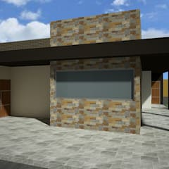 Residencial: Casas de estilo  por Vanguardia Arquitectónica