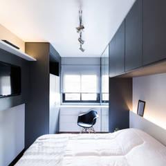 Apartamento Soho: Quartos  por K+S arquitetos associados