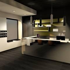 l'architecture commerciale..: Salle de sport de style de style Moderne par VALERIE BARTHE AiC