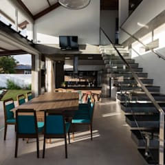 Casa Rio das Contas: Salas de jantar  por 151 office Arquitetura LTDA