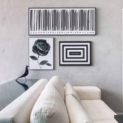 Apartamento FM: Salas de estar modernas por Carpaneda & Nasr