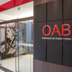 OAB Subseção de Passo Fundo RS: Centros de congressos  por Carla Almeida Arquitetura
