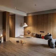 家的溫度 豁然:  嬰兒房/兒童房 by 晨室空間設計有限公司