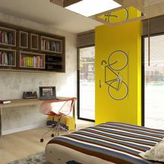 Erden Ekin Design – New Anka Residence:  tarz Çocuk Odası