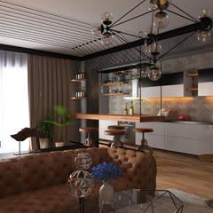 Erden Ekin Design – Sn. Ercan Balcı Konutu:  tarz Mutfak