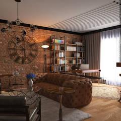 اتاق نشیمن by Erden Ekin Design