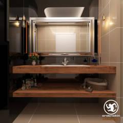 Erden Ekin Design – Genel Banyo: endüstriyel tarz tarz Banyo