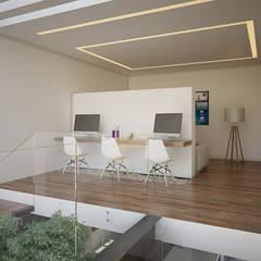 Provenza 46: Salas de estilo  por 21arquitectos