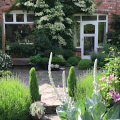 My Cheshire Garden:  Terrace by Caroline Benedict Smith Garden Design Cheshire