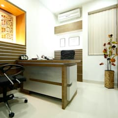 Office Interiors by Artek-Architects & Interior Designers Modern Wood Wood effect