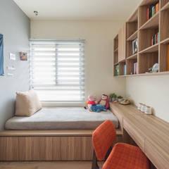 Estudios y oficinas de estilo escandinavo por 齊禾設計有限公司