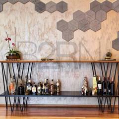B2RN Architecture – Özel projeler (konut):  tarz Şarap Mahzeni