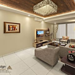 Living room by homify, Asian