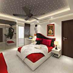3BHK Flat Interior Design and Decorate at Alwar:  Nursery/kid's room by Design Consultant