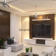 غرفة الميديا تنفيذ Inventivearchitects