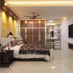 Dormitorios de estilo  por Inventivearchitects