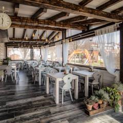 Restaurantes de estilo  por Civicocinquestudio