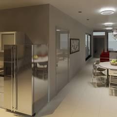 Villa Los Andes: Cocinas de estilo  por Diseño Store,