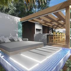 سونا by Adriane Cequinel Varella Arquitetura