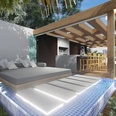 modern Spa by Adriane Cequinel Varella Arquitetura