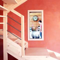 escalier: Fenêtres de style  par yg-architecte