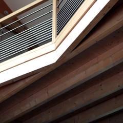 mezzanine bois: Murs de style  par yg-architecte