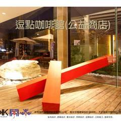 京悅設計-逗點咖啡館(逗點青少年公益商店):  學校 by 京悅室內裝修設計工程(有)公司|真水空間建築設計居研所