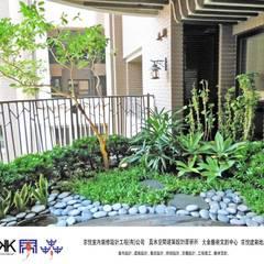 京悅設計 - 誠臻邸豪宅會所:  庭院 by 京悅室內裝修設計工程(有)公司|真水空間建築設計居研所