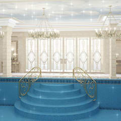 مسبح تنفيذ Luxury Antonovich Design,