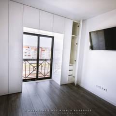Schlafzimmer von NOVACOBE - Construção e Reabilitação, Lda.