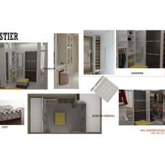 INTERIORISMO DE UNA VIVIENDA UNIFAMILIAR: Closets de estilo  por Arq. Marynes Salas, Moderno