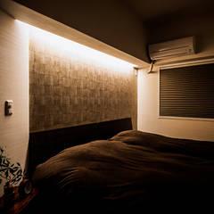 ベッドルーム: 株式会社seki.designが手掛けた寝室です。