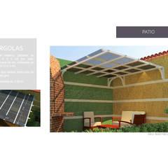 Diseño de pergola: Jardines de estilo moderno por Arq. Marynes Salas