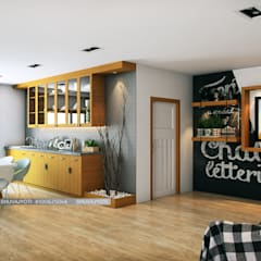 3D VISUALIZATION:  Dining room by FREELANCE