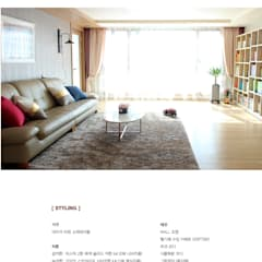 Living room by 모린홈