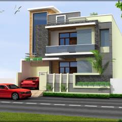 Residence:  Houses by Shitiz architects,Modern