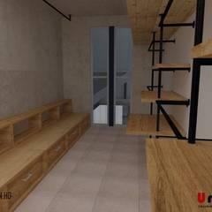 Ho.Av.: Vestidores y closets de estilo  por Urbe. Taller de Arquitectura y Construcción