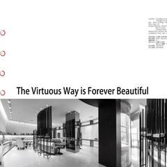 大道恆美 The Virtuous Way is Forever Beautifu l- 京悅設計 根據 京悅室內裝修設計工程(有)公司|真水空間建築設計居研所 現代風 鋁箔/鋅