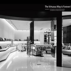 大道恆美 The Virtuous Way is Forever Beautifu l- 京悅設計:  展覽中心 by 京悅室內裝修設計工程(有)公司|真水空間建築設計居研所