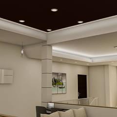 : Salas / recibidores de estilo  por Sixty9 3D Design