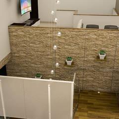 : Pasillos y vestíbulos de estilo  por Sixty9 3D Design