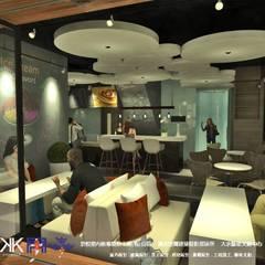 Victor  Ice cream & cafe:  酒吧&夜店 by 京悅室內裝修設計工程(有)公司|真水空間建築設計居研所, 工業風