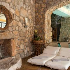 Aquapetra Resort & Spa, Telese Terme (BN): Spa in stile  di Giacomo Foti Photographer