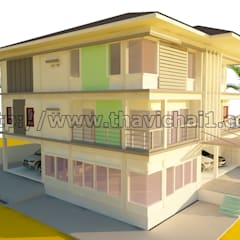 Casas de estilo  por PROFILE INTERIOR STUDIO, Moderno Concreto reforzado