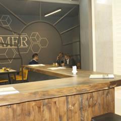Mimoza Mimarlık – BONAMER İZMİR FUAR STANDI-2017:  tarz Sergi Alanları