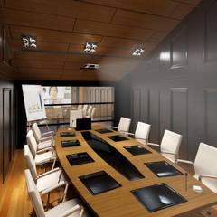 Mimoza Mimarlık – VIP SALON :  tarz Ofis Alanları